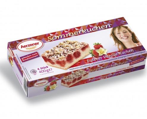 Erdbeer-Vanille-Kuchen