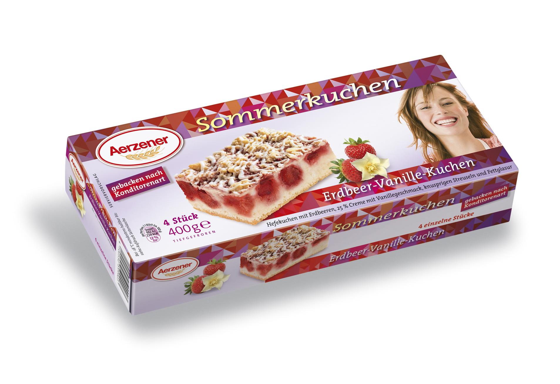 Aerzener Brot Erdbeer Vanille Kuchen