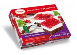 Johannisbeer-Joghurtschnitte