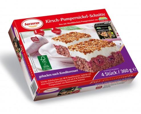 Kirsch-Pumpernickel-Schnitte