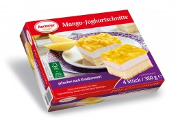 Mango-Joghurtschnitte