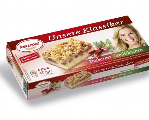 Rhabarber-Vanillekuchen