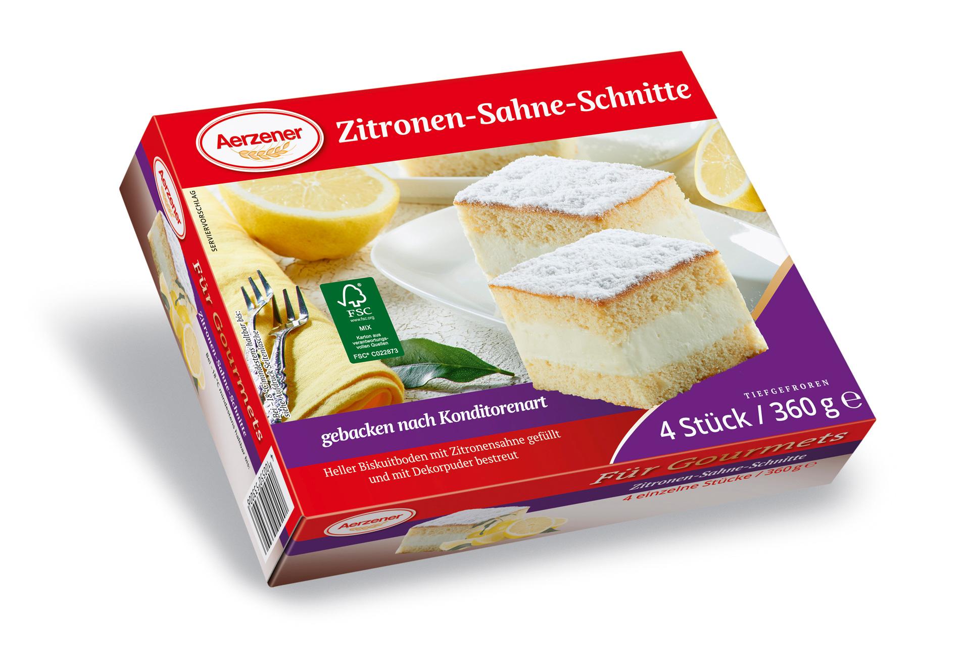 Zitronen-Sahne-Schnitte